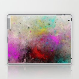 Abstract Cosmos - Colourful, space abstract Laptop & iPad Skin