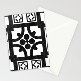 English half-timbered Tudor house pattern Stationery Cards
