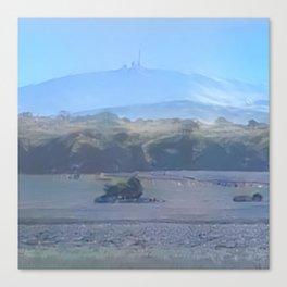 Arctic Mount Brocken Canvas Print
