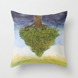The Plain of Winds (in the Earthlight) Throw Pillow