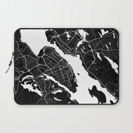 Halifax - Minimalist City Map Laptop Sleeve