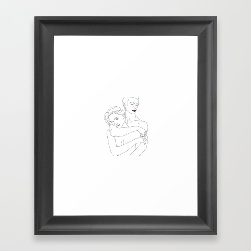 Only Lovers Left Alive Framed Art Print by Nandis FRM8876647