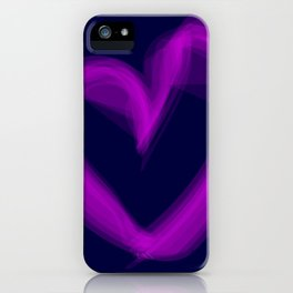 Shape Of Love iPhone Case