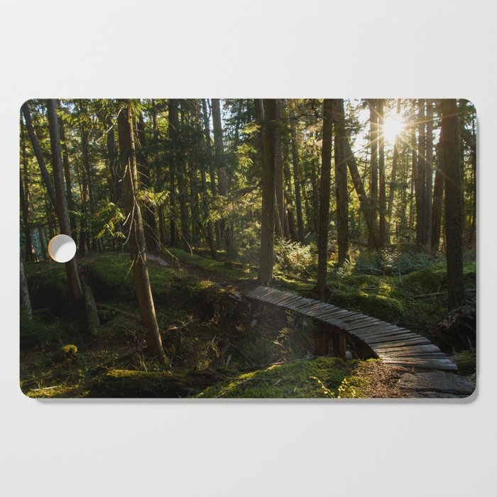 North Shore Trails in the Woods Cutting Board