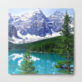 Canadian Wonder: Moraine Lake Metal Print