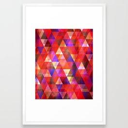 February Framed Art Print