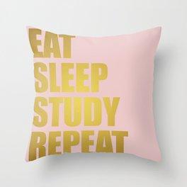Dorm Goals Throw Pillow