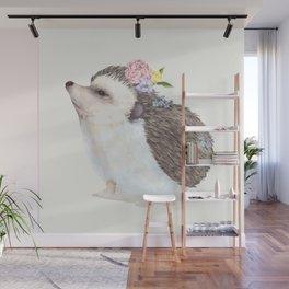 Baby Hedgehog Wall Mural