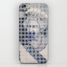 Royal silence iPhone Skin