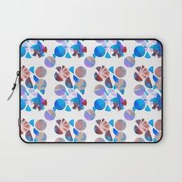 Geometric Watercolour Shapes Laptop Sleeve