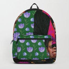 Flowers Frida Kahlo I Backpack
