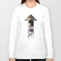 psychology Long Sleeve T-shirts featuring CATHARTIC by THE USUAL DESIGNERS