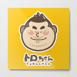 Toro Chan  Metal Print