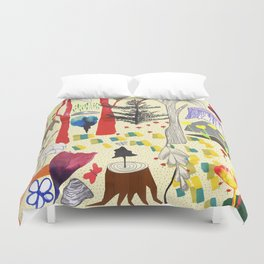 Magic Wood Duvet Cover