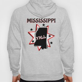 Mississippi State Pride Y'all Hoody
