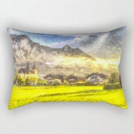 Saint Lorenz Art Rectangular Pillow