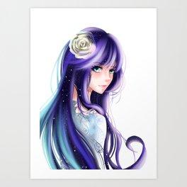 Veronica's Flower Art Print
