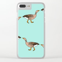March of Geese Clear iPhone Case