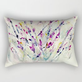 Floral Impression / Meadow Scatter Rectangular Pillow