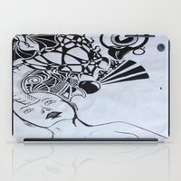 third eye iPad Cases featuring Third Eye by Biancasigns