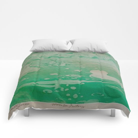 MoonSea Fantasy lightgreen Comforters