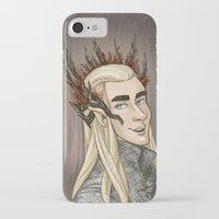 thranduil iPhone & iPod Cases featuring Thranduil by quietsnooze