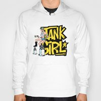 tank girl Hoodies featuring Tank Girl Pinup by AngoldArts