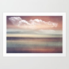 FADING MEMORIES Art Print