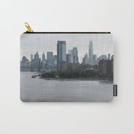 I live by the River Carry-All Pouch