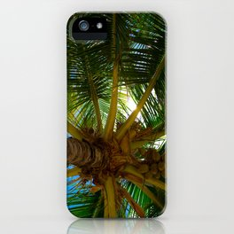 Tropical Shade iPhone Case