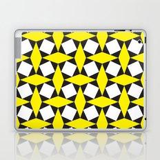 Yellow Squares Laptop & iPad Skin