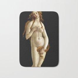 "Sandro Botticelli ""Venus"" (Gemäldegalerie, Berlin) Bath Mat"