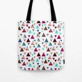 Multicolor Trianspace Tote Bag