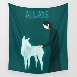 Snape - Always Wall Tapestry