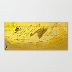 Button Canvas Print
