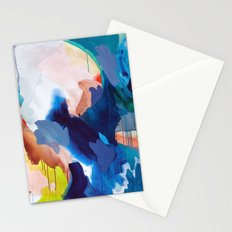 Cooling Abstract Stationery Cards