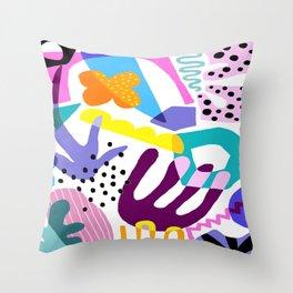 Cray ZZ Throw Pillow