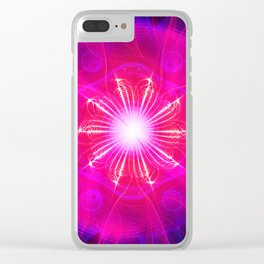 The Enlightening Rose Ship Clear iPhone Case