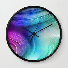 Texture abstract 2016 / 008 Wall Clock