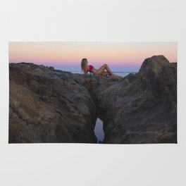 Hollywood Sunset Rocks Rug