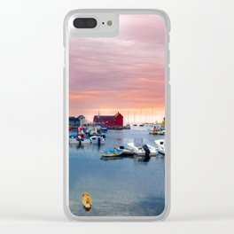 Landscape of Motif #1 (Rockport, Ma) Clear iPhone Case