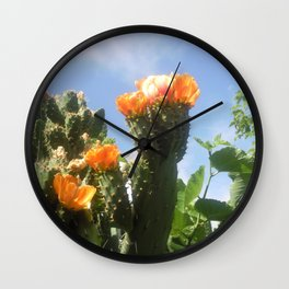 Blossoms in the Spring Wall Clock