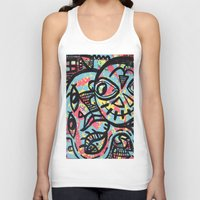 cheshire Tank Tops featuring Cheshire by Lisa Brown Gallery