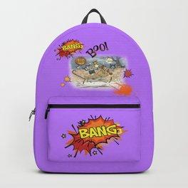 Cat's Halloween Backpack