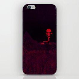 Aloft A Mountain [RED] iPhone Skin