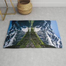 Goat Lake Mountain Lake Washington Rug