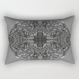 """Tutto sulle mie spalle!"" (0017) Rectangular Pillow"