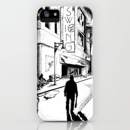 Swing iPhone Case