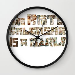 The Pirate Balthasar is a girl! Wall Clock