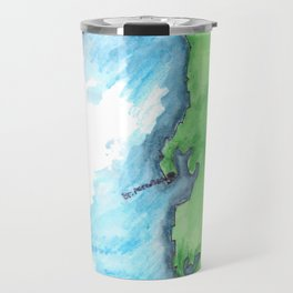 Map of FL Travel Mug